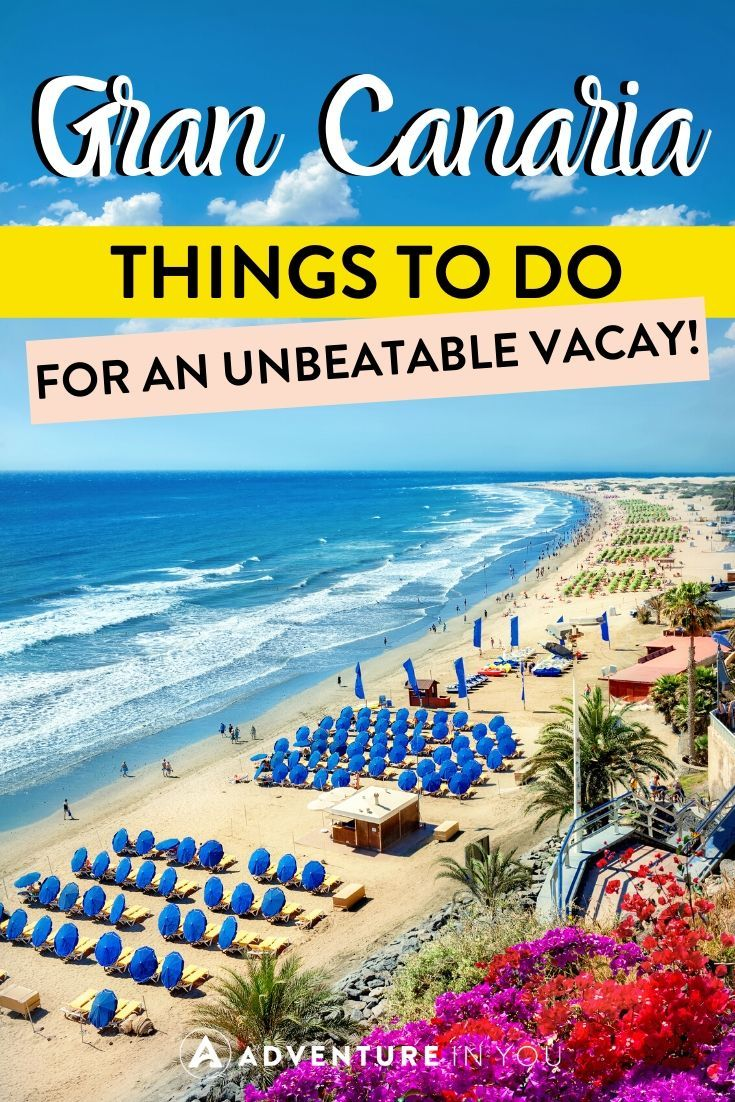 Things to Do in Gran Canaria | No trip to the Canary Islands is complete without a stay in Gran Canaria. Here are the absolute best things to do on the island for an unforgettable vacation!