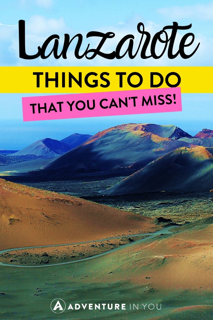 Things to Do in Lanzarote | Lanzarote is one of the most unique places in Spain and in the entire world! Here's everything you need to do on a trip to this Canary Island.