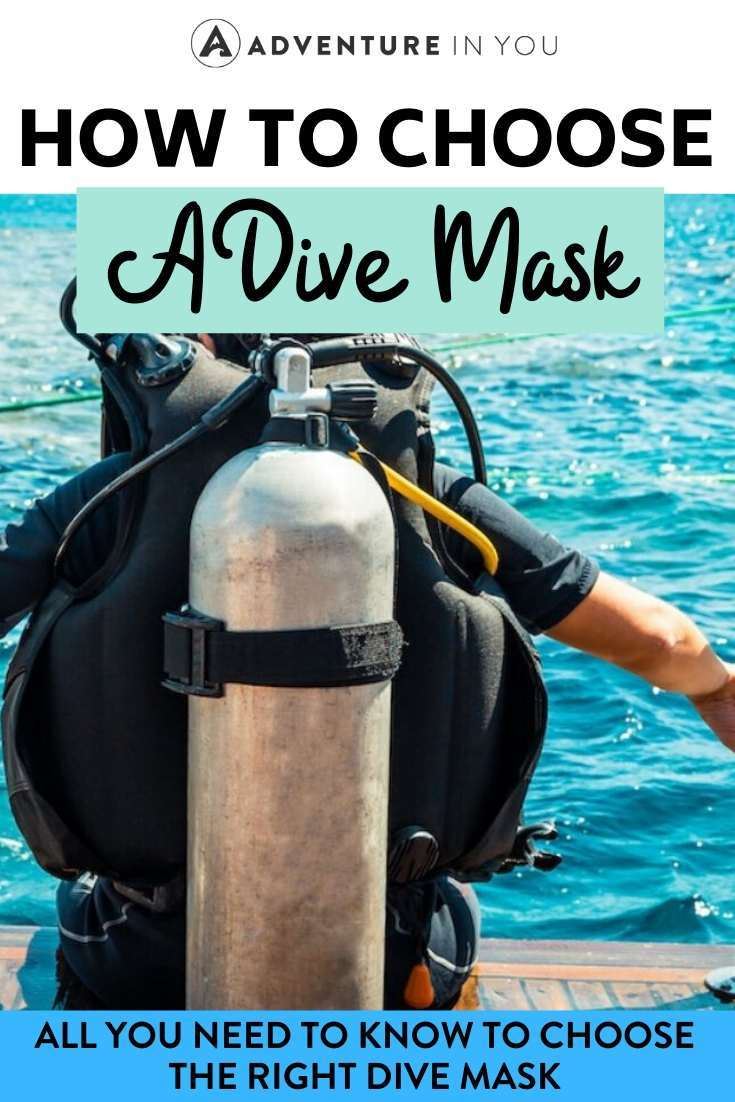 How to Choose the Right Dive Mask | Want to invest in your own dive mask? Choose the right one with our beginner's guide to dive masks!