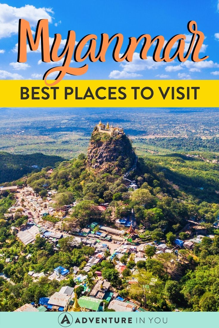 Best Places to Visit in Myanmar   Myanmar is a true gem of Southeast Asia and should be on any avid traveler's bucket list. Here are the best places to visit in this magical country!