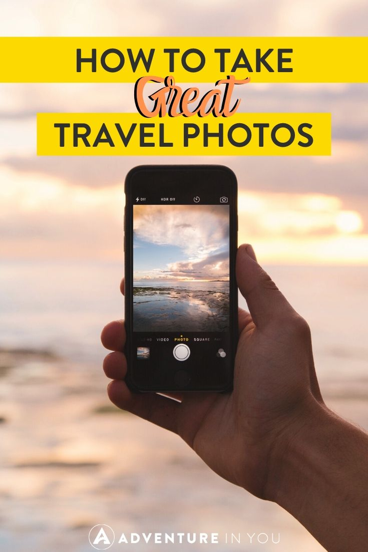 How to Take Great Travel Photos | Looking to one-up your travel photo game? Here are our top 7 tips for taking some killer shots anywhere in the world!