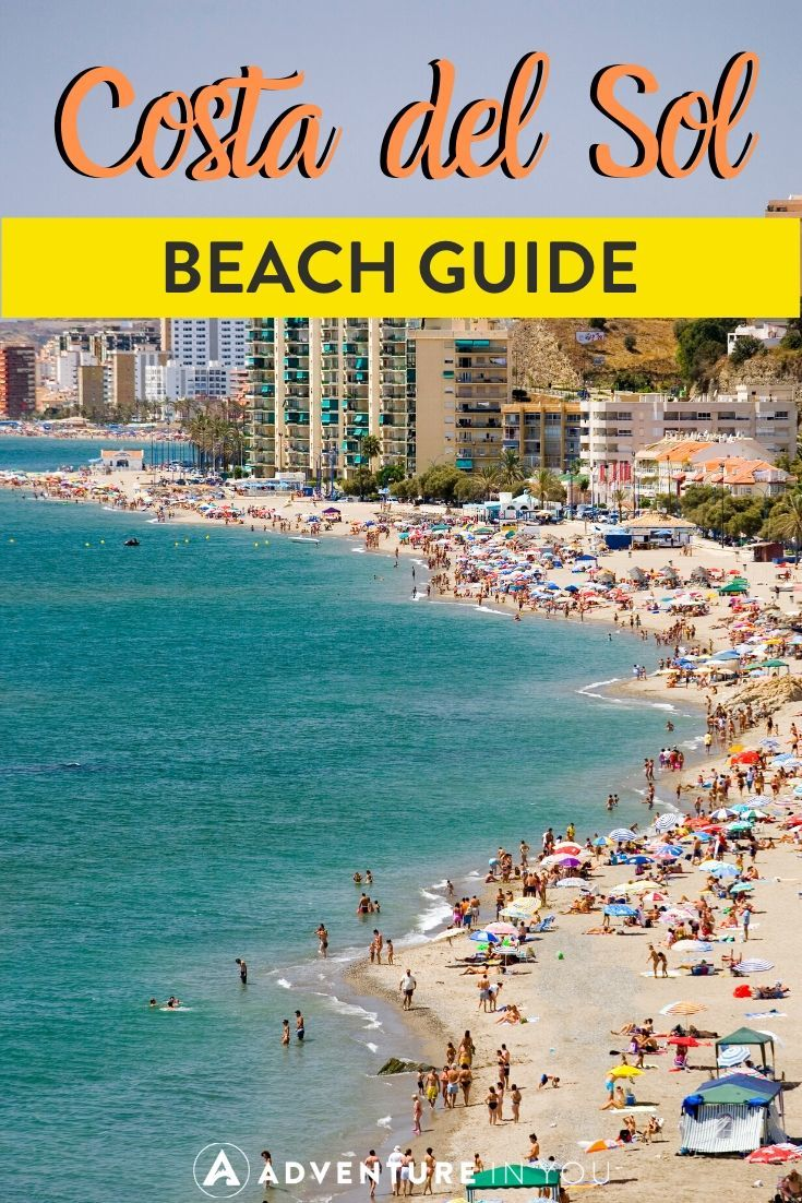 Best Costa del Sol Beaches | If you're looking for a sunny Spanish holiday, Costa del Sol is the place to be! Check out our complete beach guide to the area.