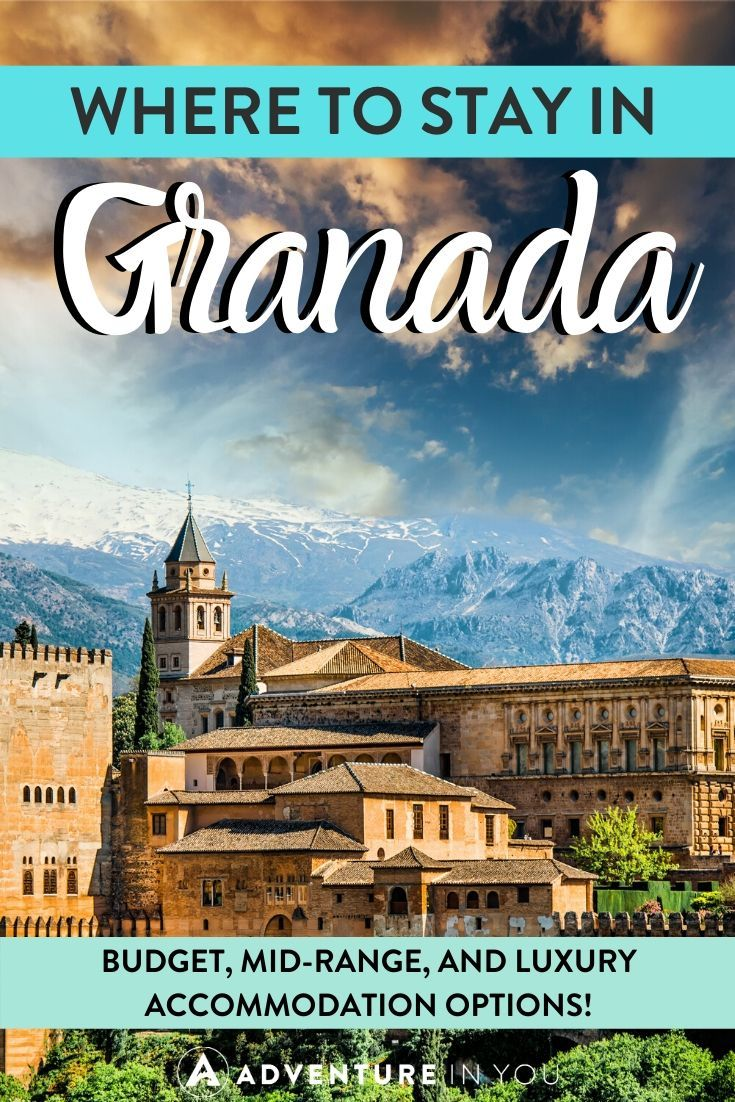 Where to Stay in Granada | Headed to Granada? Here are the best places to stay for budget, mid range and luxury accommodation!