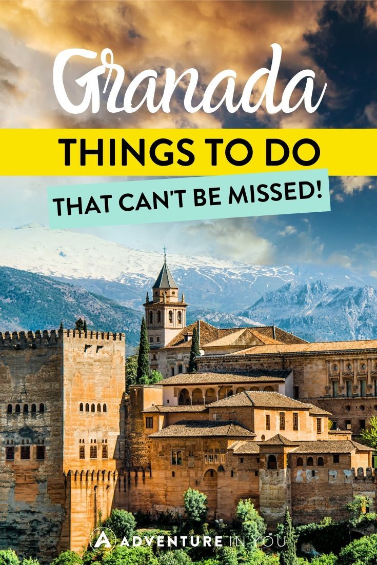 Things to Do in Granada | Taking a trip to Granada? Here are the top things to do in this enchanting city!